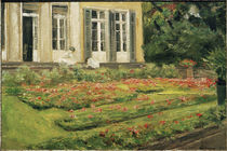 Liebermann / Flower Terrace / Painting by AKG  Images