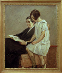 Liebermann / Wife and granddaughter by AKG  Images