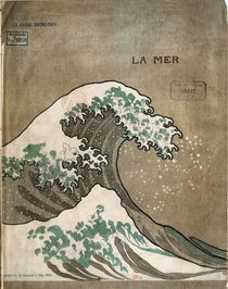 Debussy / La Mer / Cover, Music Print/1905 by AKG  Images