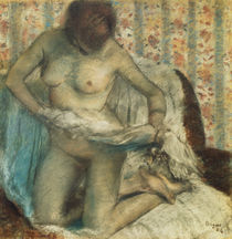 E.Degas / After the Bath / 1884 by AKG  Images