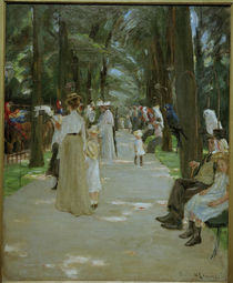 Liebermann / The Parrot Walk / Painting by AKG  Images