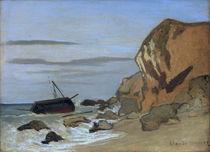 Monet / Falaise (Steep coast) / 1864 by AKG  Images