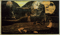 Gauguin / Maruru / Colour woodcut by AKG  Images