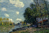 Alfred Sisley / Bank of Loing River by AKG  Images