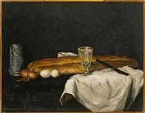 P.Cézanne, Stilleben mit Brot u. Eiern von AKG  Images