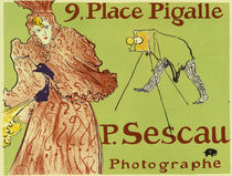 Toulouse-Lautrec, poster for Paul Sescau by AKG  Images