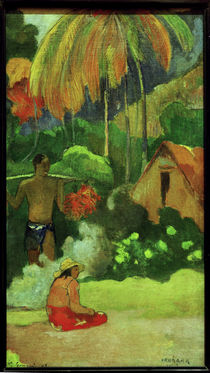 Gauguin / Mahana maa II/ 1892 by AKG  Images