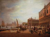 Venice, View on Piazzetta / von Alt by AKG  Images