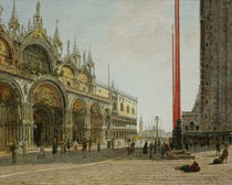 Venedig, San Marco / Gem. v. Jakob Alt by AKG  Images