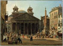 Rom, Pantheon / Aquarell v. Rudolf v. Alt by AKG  Images