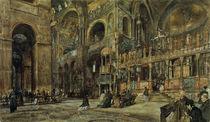 Venedig, Markuskirche / Aquarell v. R.Alt by AKG  Images