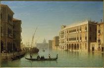 Venedig, Canal Grande / Gemälde von Carl Morgenstern