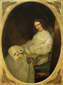 F. v. Rayski, Minna Pompilia v. Rayski/1843 by AKG  Images