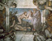 Creation of Eve / Michelangelo /  c. 1510 by AKG  Images