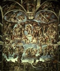 Michelangelo, Jüngstes Gericht von AKG  Images