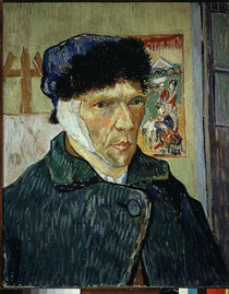Van Gogh / Self-Portrait with Bandaged Ear by AKG  Images