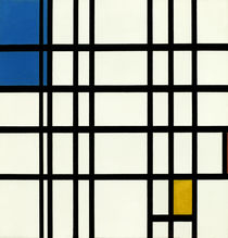 Mondrian / Rhythm of the Straight Lines by AKG  Images