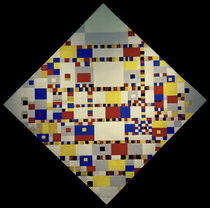 Victory Boogie Woogie / P. Mondrian / Painting c.1942 by AKG  Images