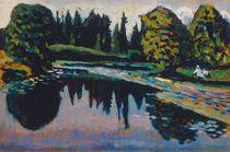 W.Kandinsky, Fluß im Sommer von AKG  Images