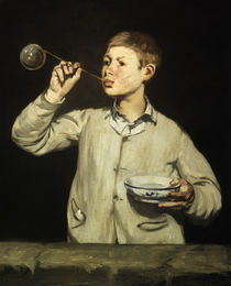 The Soap Bubbles / E. Manet / Painting, 1867 by AKG  Images