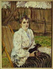 Toulouse-Lautrec, Frau mit Hund von AKG  Images