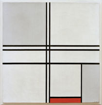 Mondrian / Composition grey-red / 1935 by AKG  Images