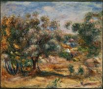 Renoir / Cagnes /  c. 1909/10 by AKG  Images