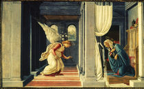 S.Botticelli, Anunciation of Mary by AKG  Images