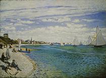 Monet / Regatta in Sainte-Adresse by AKG  Images