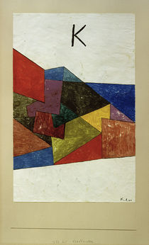 Paul Klee, Kraftwetter by AKG  Images
