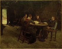 M. Liebermann, Ostfriesische Bauern beim Tischgebet von AKG  Images