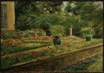 M. Liebermann, Die Blumenterrasse im Wannseegarten nach Nordwesten by AKG  Images