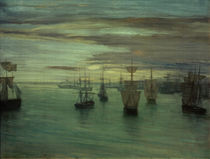 James M.Whistler, Dämmerung in Valparaiso von AKG  Images