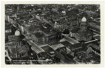 Berlin, Gendarmenmarkt, Gesamtanscht / Luftaufnahme, um 1925 von AKG  Images