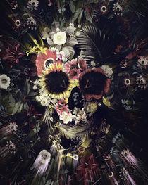 Garden Skull von Ali GULEC