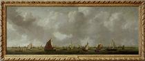 R. Zeeman, Ansicht des Ij u. Amsterdam. von AKG  Images