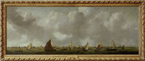 R. Zeeman, Ansicht des Ij u. Amsterdam. by AKG  Images