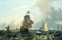 Wilhelm III. / Einschiffung n. England, 1688 von AKG  Images
