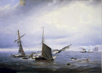 K.A.Krugovikhin / Shipwreck / Paint./C19 by AKG  Images