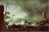 L.Backhuysen, Stürmische See von AKG  Images
