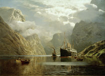 v. Eckenbrecher, Aug. Vict. im Naeröfjord by AKG  Images