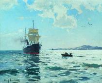 O.Jernberg, Marineschiff von AKG  Images