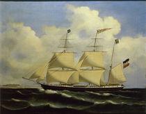 Segelschiff Friedrich Ludwig / Gemälde von AKG  Images