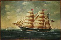 Segelschiff Gartenlaube / Gemälde von AKG  Images