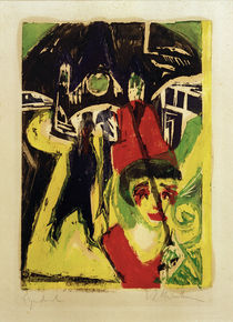 E.L.Kirchner / Coquette in the Street by AKG  Images