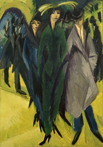 E.L.Kirchner / Women in the Street by AKG  Images