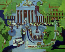 E.L.Kirchner / Brandenburg Gate by AKG  Images