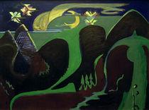 E.L.Kirchner, Nächtliche Fantasielandschaft von AKG  Images