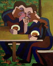 E.L.Kirchner / The Eaters by AKG  Images