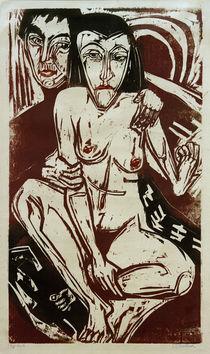 E.L.Kirchner, Melancholie (Selbstbildnis mit Erna) von AKG  Images